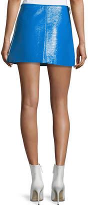 Courreges Coated Vinyl Mini Skirt
