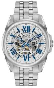 Bulova Automatic Stainless Steel Mechanical Watch