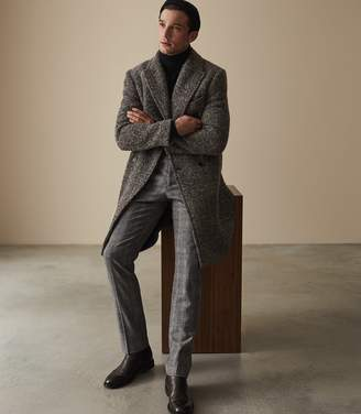 Reiss Rodney Slim Fit Checked Trousers