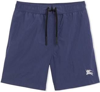 Burberry TEEN drawcord swim shorts