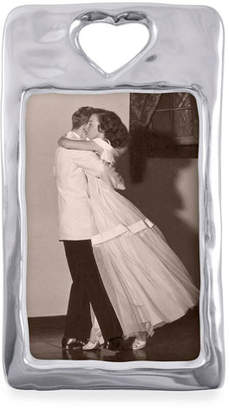 """Mariposa Open Heart Picture Frame, 4"""" x 6"""""""