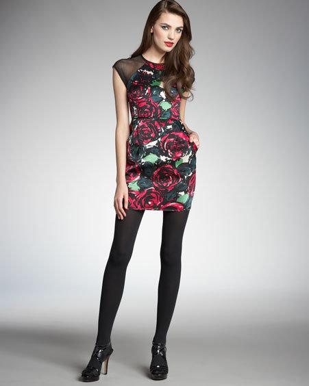 Nanette Lepore Daring Rose Dress
