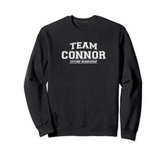 Team CONNOR Sweatshirt | Surname Family Last Name Gift