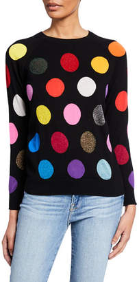 Replica Los Angeles Dot Intarsia Multi Color Sweatshirt