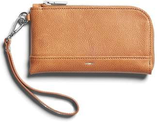 Shinola Latigo Leather Wristlet