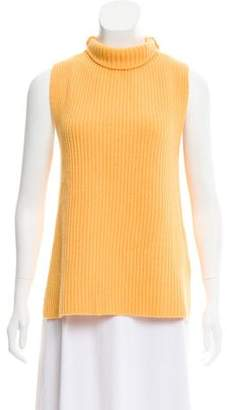 Barneys New York Barney's New York Wool & Cashmere Sleeveless Sweater w/ Tags