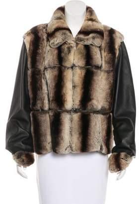 Rabbit Fur Short Coat