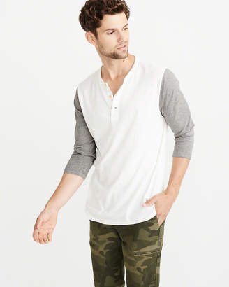 Abercrombie & Fitch Baseball Henley