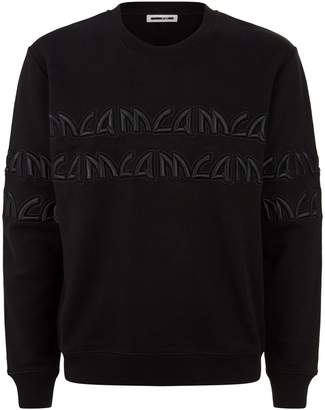 McQ Embroidered Logo Sweatshirt