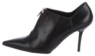 Narciso Rodriguez Pointed-Toe Leather Booties