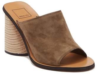 Dolce Vita Alba Braided Heel Mule Sandal