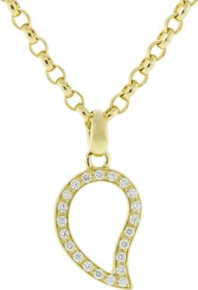 Tamara Comolli Small Diamond Pave Signature Pendant