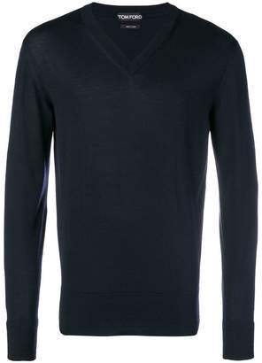 Tom Ford fine knit V-neck sweater