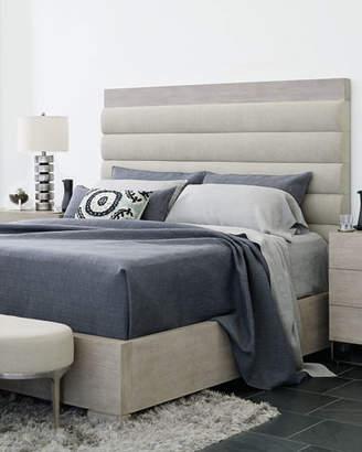 Bernhardt Linea Metal & Upholstered Bench