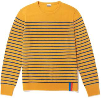 Kule The Sophie Sweater in Gold/Berber Blue