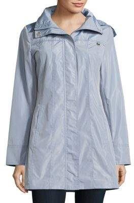 Ellen Tracy Lightweight Packable Rain Coat