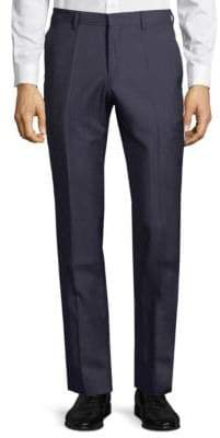 HUGO BOSS Textured Wool Trousers