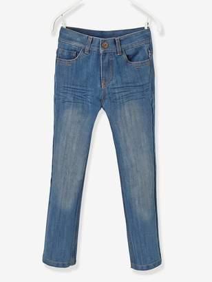 Vertbaudet Boys' Indestructible Straight Cut Jeans