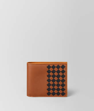 Bottega Veneta MULTICOLOR INTRECCIATO CHECKER WALLET