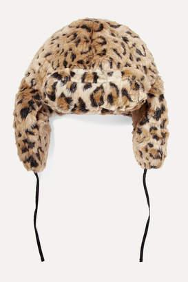 R 13 Leopard-print Faux Fur Hat - Leopard print