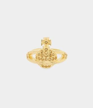 Vivienne Westwood Mini Orb Ring Light Topaz