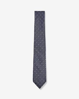 Express Narrow Dot Silk Tie