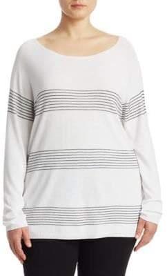 Marina Rinaldi Marina Rinaldi, Plus Size Raglan-Sleeve Sweater