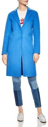 Sandro Dilan Single-Button Coat