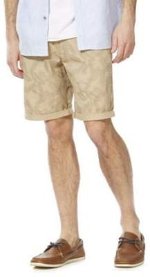 F&F Palm Leaf Print Chino Shorts 48 Waist