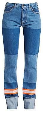 Calvin Klein Women's Firemen Colorblock Jeans