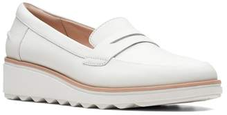 Clarks Sharon Ranch Wedge Loafer