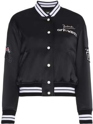 85d93b7ef Off-White Bomber Jackets For Women - ShopStyle UK