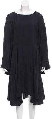 Chloé Asymmetrical Midi Dress w/ Tags