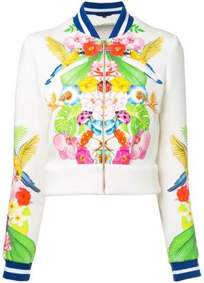Manish Arora tropical print bomber jacket