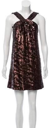 Rachel Zoe Sequined Mini Dress