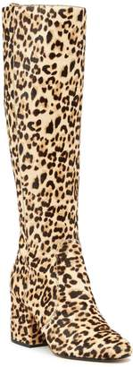 Sam Edelman Thora Knee Genuine Calf Hair High Boot