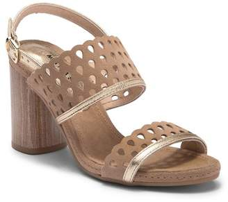 Manas Design Virgin Cut Out Leather Sandal