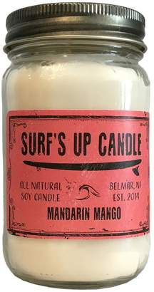 Surfs Up Candle Mandarin Mango Mason Jar Candle
