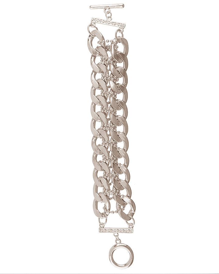 Rebel Chain Toggle Bracelet