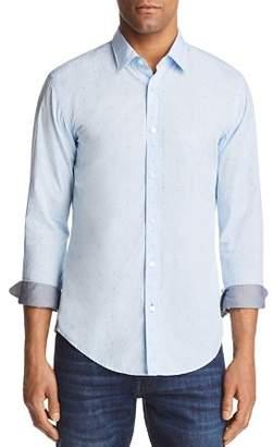 BOSS Ronni Dot Slim Fit Button-Down Shirt