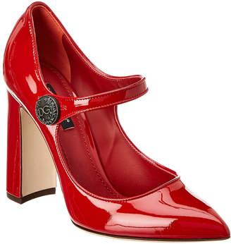 Dolce & Gabbana Patent Mary Jane Pump