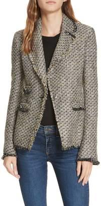 Veronica Beard Fabian Tweed Jacket