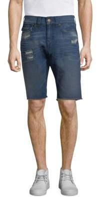 True Religion Ricky Flap Pocket Denim Shorts