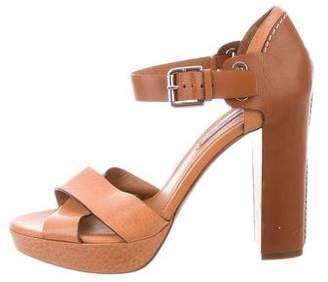Ralph Lauren Platform Ankle Strap Sandals