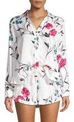 Josie Natori Two-Piece Freestyle Pajama Set