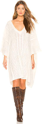 Lovers + Friends Monette Poncho