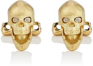 Deakin & Francis Men's Skull Cufflinks - Gold