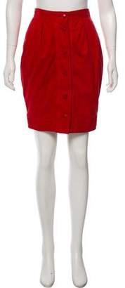 Fendi High-Waist Skirt