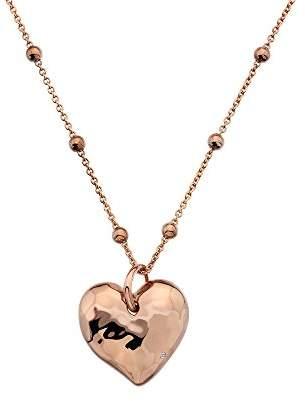 Hot Diamonds Women 925 Sterling Silver Diamond Pendant Necklace of Length 45cm DP679