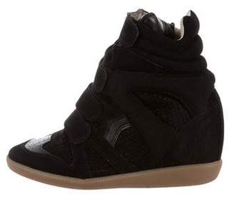 Isabel Marant Beckett High-Top Sneakers